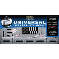 Cruiser Accessories Universal Clear License Plate Mount License Plater Holder from Blain's Farm and Fleet