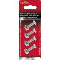 Cruiser Accessories Stainless Steel  License Plate  License Plate Fasteners from Blain's Farm and Fleet