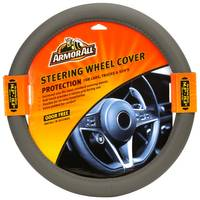 Armor All Fat Boy Grey Steering Wheel Cover from Blain's Farm and Fleet
