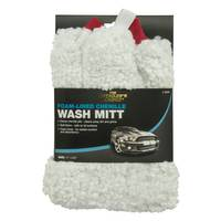 Detailer's Choice Chenille Mitt with Pad from Blain's Farm and Fleet