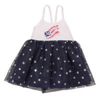 Carter's Little Girls' Dress American Flag Tank White from Blain's Farm and Fleet