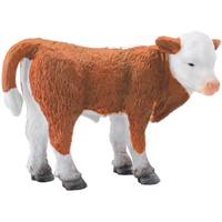 Breyer CollectA Standing Hereford Calf Kid Figurine from Blain's Farm and Fleet