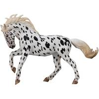 Breyer CollectA Prancing Black Leopard Knabstrupper Mare Kid Figurine from Blain's Farm and Fleet