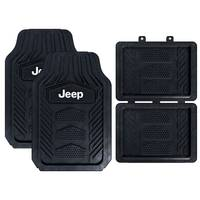 Plasticolor 4-Piece WeatherPro Jeep Floor Mat from Blain's Farm and Fleet