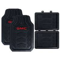 Plasticolor 4-Piece WeatherPro GMC Floor Mat from Blain's Farm and Fleet