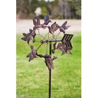 Evergreen Enterprises Antique Bronze Floating Hummingbirds Kinetic Garden Stake from Blain's Farm and Fleet