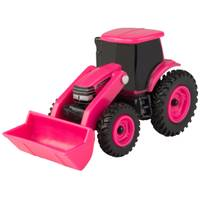 Tomy 1:64 Case IH Pink Loader Tractor from Blain's Farm and Fleet