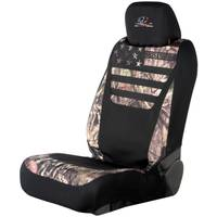 Mossy Oak Patriotic Low Back Seat Cover from Blain's Farm and Fleet