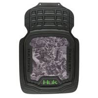 HUK 2-Piece Freshwater Cell Gray and Green Front Floor Mats from Blain's Farm and Fleet