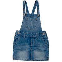 Squeeze Kids 12 Big Girls' Basic Skirtall Medium Wash from Blain's Farm and Fleet