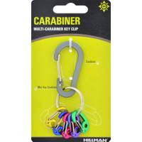 Hillman Carabiner with Multi-Carabiner Key Chain from Blain's Farm and Fleet