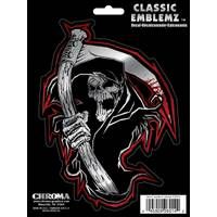 Chroma Reaper Skull Classic  Decal from Blain's Farm and Fleet
