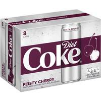 Coca-Cola 8-Pack 12 oz Fiesty Cherry Diet Coke from Blain's Farm and Fleet
