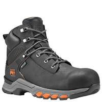 Timberland PRO Men's Black Hypercharge Composite Toe Boots from Blain's Farm and Fleet