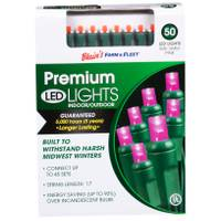 Seasons 4 5mm 50L Pink F&F LED Light Set from Blain's Farm and Fleet