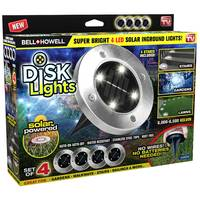 As Seen On TV Bell & Howell Disk Lights from Blain's Farm and Fleet
