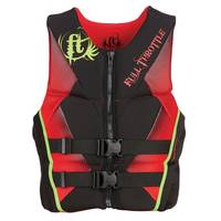 Full Throttle Men's Red Hinged Rapid-Dry Flex-Back Life Vest from Blain's Farm and Fleet