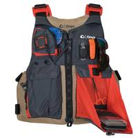 Onyx Tan Kayak Fishing Paddle Vest from Blain's Farm and Fleet