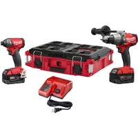 Milwaukee M18 Fuel 2-Piece Combo Kit with Packout Tote from Blain's Farm and Fleet
