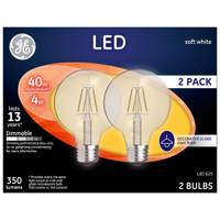 GE Soft White 4 W LED G25 2-Pack from Blain's Farm and Fleet