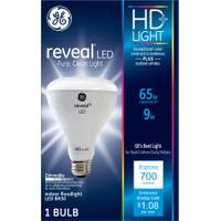 GE HD Reveal 9 W LED BR30 Flood from Blain's Farm and Fleet