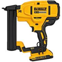 DEWALT 20V MAX XR 18 GA Cordless Narrow Crown Stapler Kit from Blain's Farm and Fleet