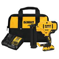 DEWALT 20V MAX XR 18 GA Cordless Brad Nailer Kit from Blain's Farm and Fleet