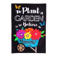 Evergreen Enterprises Plant Garden Garden  Flag from Blain's Farm and Fleet