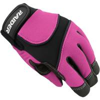 Raider Youth Pink MX Gloves from Blain's Farm and Fleet