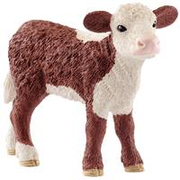 Schleich Hereford Calf from Blain's Farm and Fleet