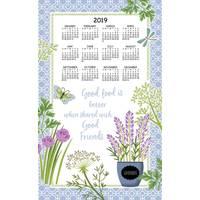 Kay Dee Designs Herb Garden 2019 Calendar Towel from Blain's Farm and Fleet