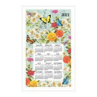 Kay Dee Designs Butterfly Garden 2019 Calendar Towel from Blain's Farm and Fleet