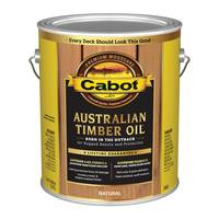 Cabot 1 Gallon Natural Australian Timber Oil Based Outdoor Stain from Blain's Farm and Fleet