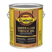 Cabot 1 Gallon Honey Teak Australian Timber Oil Based Outdoor Stain from Blain's Farm and Fleet
