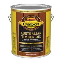 Cabot 1 Gallon Jarrah Brown Australian Timber Oil Based Outdoor Stain from Blain's Farm and Fleet