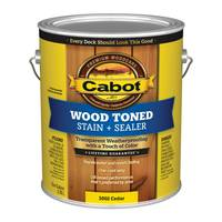 Cabot 1 Gallon Cedar Wood Toned Deck & Siding Stain from Blain's Farm and Fleet