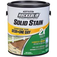 Rust-Oleum 1 Gallon 2X Rocksolid Tint Base from Blain's Farm and Fleet