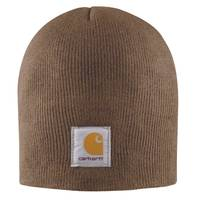 Carhartt Men's Acrylic Knit Hat Canyon Brown from Blain's Farm and Fleet