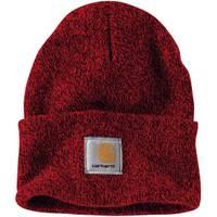 Carhartt Men's Red & Navy Knit Carhartt Watch Hat from Blain's Farm and Fleet