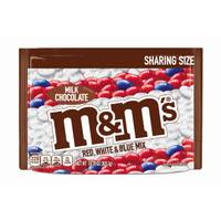 M&M's 10.7 oz Red, White and Blue Milk Chocolate Bag from Blain's Farm and Fleet