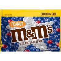 M&M's 10.7 oz Red, White and Blue Peanut Candies from Blain's Farm and Fleet