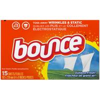 Bounce Dryer Sheets from Blain's Farm and Fleet