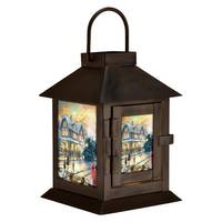 Mark Feldstein & Associates, Inc. Thomas Kinkade LED Lantern from Blain's Farm and Fleet