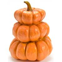 Caffco International Pumpkin x3 Polyresin from Blain's Farm and Fleet