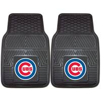 MLB Chicago Cubs 2-Piece Heavy Duty Vinyl Car Mats from Blain's Farm and Fleet