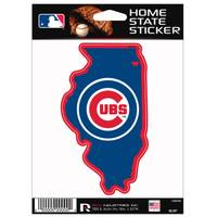MLB Chicago Cubs State Decal from Blain's Farm and Fleet