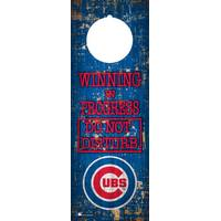 MLB Chicago Cubs Door Hanger 4x12 from Blain's Farm and Fleet