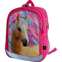 John Deere OS Magenta Horse Backpack from Blain's Farm and Fleet