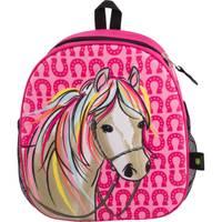 John Deere OS Toddler Magenta Horse Molded Backpack from Blain's Farm and Fleet