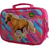 John Deere OS Magenta Horse Insulated Lunchbox from Blain's Farm and Fleet
